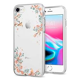 Spigen kryt Liquid Crystal Blossom pre iPhone 8/7 - Nature