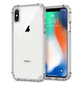 Spigen kryt Crystal Shell pre iPhone X/XS - Clear Crystal
