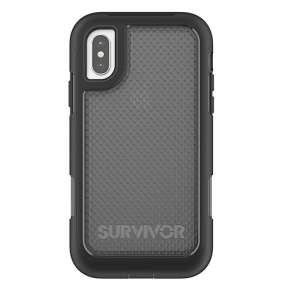 Griffin kryt Survivor Extreme pre iPhone X/XS - Black/Translucent