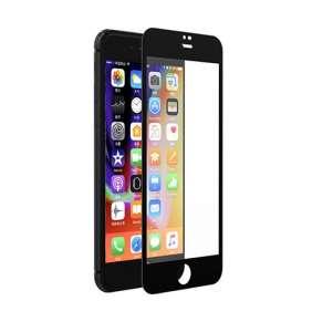 Devia ochranné sklo Full Screen pre iPhone 8 Plus/7 Plus - Black Frame