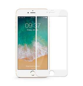 JCPAL Armor 3D Glass Screen Protector ( 0.26mm  White) for iPhone8