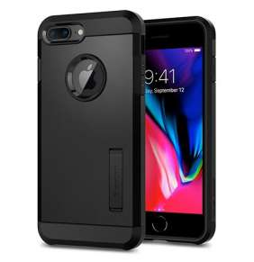 Spigen kryt Tough Armor 2 pre iPhone 8 Plus - Black