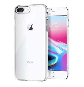 Spigen kryt Thin Fit pre iPhone 8 Plus - Crystal Clear