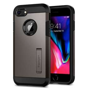 Spigen kryt Tough Armor 2 pre iPhone 8 - Gunmetal