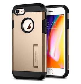 Spigen kryt Tough Armor 2 pre iPhone 8 - Champagne Gold