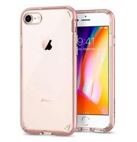 Spigen kryt Neo Hybrid Crystal 2 pre iPhone 8 - Rose Gold