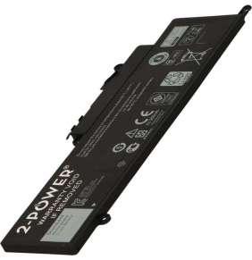 2-POWER Baterie 11,1V 3800mAh pro Dell Inspiron 11 (3147), 11 (3148), 13 (7348), 13 (7347)