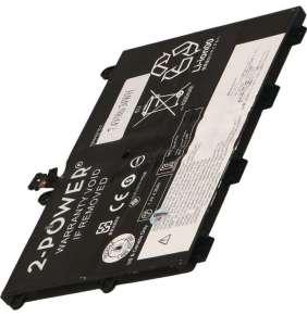 2-POWER Baterie 7,4V 4600mAh pro Lenovo ThinkPad 11e, ThinkPad Yoga 11e