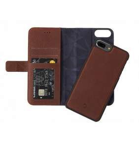 Decoded puzdro Leather Detachable Wallet pre iPhone 7 Plus/8 Plus - Brown