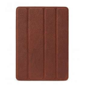 """Decoded puzdro Leather Slim Cover pre iPad 9.7"""" 2017/2018 - Brown"""