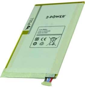 2-POWER Baterie 3,8V 4450mAh pro Samsung Galaxy Tab 3 8.0 (SM-T310), Galaxy Tab 3 8.0 (SM-T311)