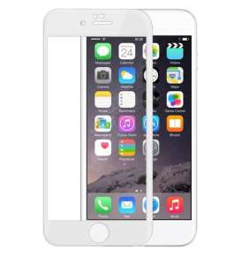 Devia ochranné sklo Full Screen pre iPhone 6/6s - White frame