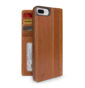 TwelveSouth puzdro Journal pre iPhone 7 Plus/8 Plus - Cognac