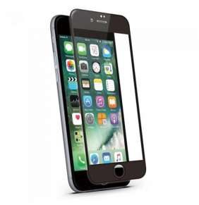 JCPAL 3D Glass Screen Protector ( 0.26mm , Black) for iPhone 6 / 6s