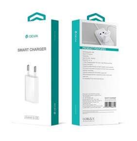 Devia sieťová nabíjačka Smart 1A - White