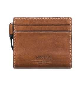 Nomad Leather Charging Slim Wallet - Rustic Brown