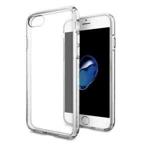 Spigen kryt Ultra Hybrid pre iPhone 7 - Crystal Clear