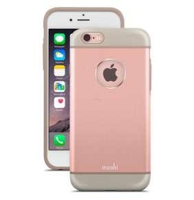 Moshi kryt iGlaze Armour pre iPhone 6/6s - Golden Rose