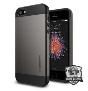 Spigen kryt Slim Armor S pre iPhone SE/5s/5 - GunMetal