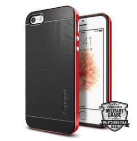 Spigen kryt Neo Hybrid pre iPhone SE - Dante Red