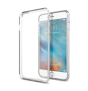 Spigen kryt Liquid Crystal pre iPhone 6/6s - Crystal Clear