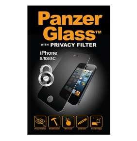 PanzerGlass ochranné sklo Privacy Glass pre iPhone SE/5s/5c/5