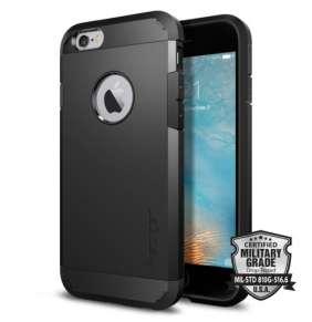 Spigen kryt Tough Armor pre iPhone 6/6s - Black