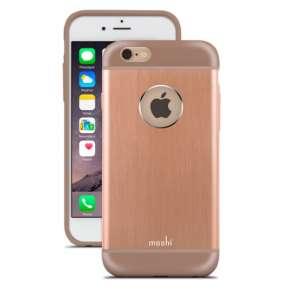 Moshi kryt iGlaze Armour pre iPhone 6/6s - Sunset Copper