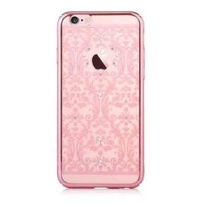 Devia kryt Crystal Baroque pre iPhone 6/6s - Rose Gold
