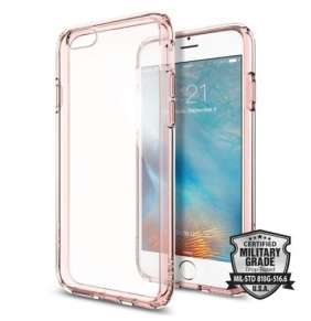 Spigen kryt Ultra Hybrid pre iPhone 6/6s - Rose Crystal