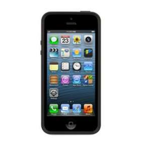 Griffin kryt Reveal pre iPhone 5/5S/SE - Black/Clear