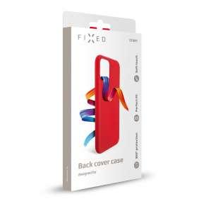 Kryt FIXED Story Huawei P40 Lite e, červený