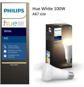 PHILIPS Hue White žárovka 15.5W E27 A67 DIM