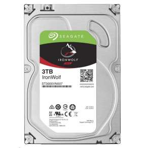 SEAGATE HDD IRONWOLF (NAS) 3TB SATAIII/600, 5900rpm, 64MB cache