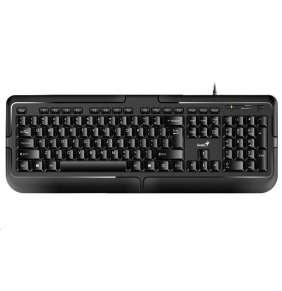 GENIUS KB-118 klávesnice/ Drátová/ PS2/ černá/ CZ+SK layout