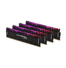 DIMM DDR4 128GB 3600MHz CL18 (Kit of 4) KINGSTON HyperX FURY RGB Black
