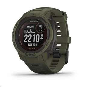 Garmin GPS sportovní hodinky Instinct Solar Tactical Green Optic