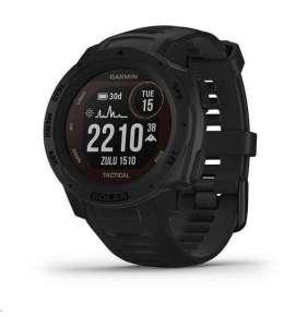 GARMIN chytré GPS hodinky Instinct Solar Tactical Black Optic