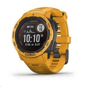Garmin GPS sportovní hodinky Instinct Solar Yellow Optic