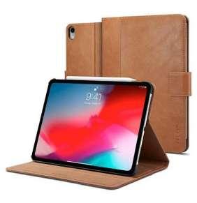 """Spigen puzdro Stand Folio pre iPad Pro 12.9"""" 2018 - Brown"""