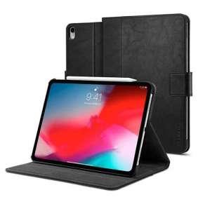 """Spigen puzdro Stand Folio pre iPad Pro 11"""" 2018 - Black"""