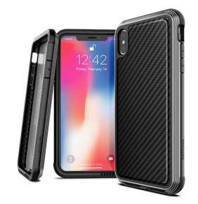 X-Doria Defense Lux for iPhone Xs Max - Black Carbon Fiber