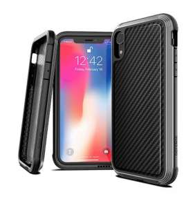 X-Doria Defense Lux for iPhone XR - Black Carbon Fiber
