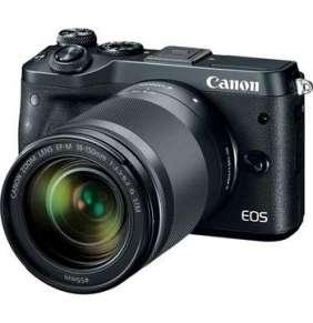Canon EOS M6 Body Black + EF-M 18-150 IS STM + hadřík + 16GB karta ZDARMA