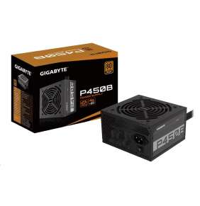 GIGABYTE zdroj P450B, 450W, 80plus bronze, 12 cm fan