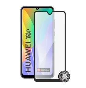 Screenshield ochrana displeje Tempered Glass pro Huawei Y6p (2020), full cover, černá
