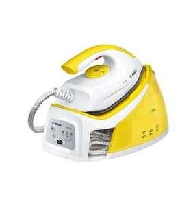 BOSCH_ Kompaktná parná stanica pre jednoduché a výkonné žehlenie, Seria 2, Biela/žltá