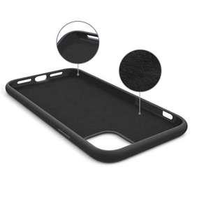 ESR kryt Color Soft Silicone Case pre iPhone 11 - Black