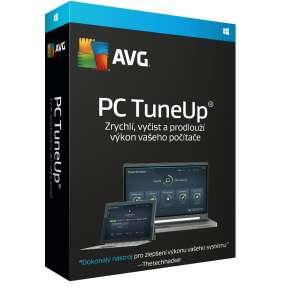 Prodloužení AVG PC TuneUp, 3 lic. (12 měs.), elektronicky