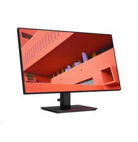 LENOVO LCD P27q-20 - 27''',IPS,matný,16:09,2560x1440,178/178,4ms,350cd/m2,1000:1,HDMI,DP,USB Hub,VESA,Pivot